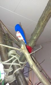fugl i træ