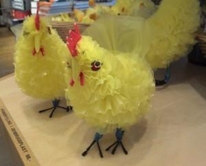 plastik kylling