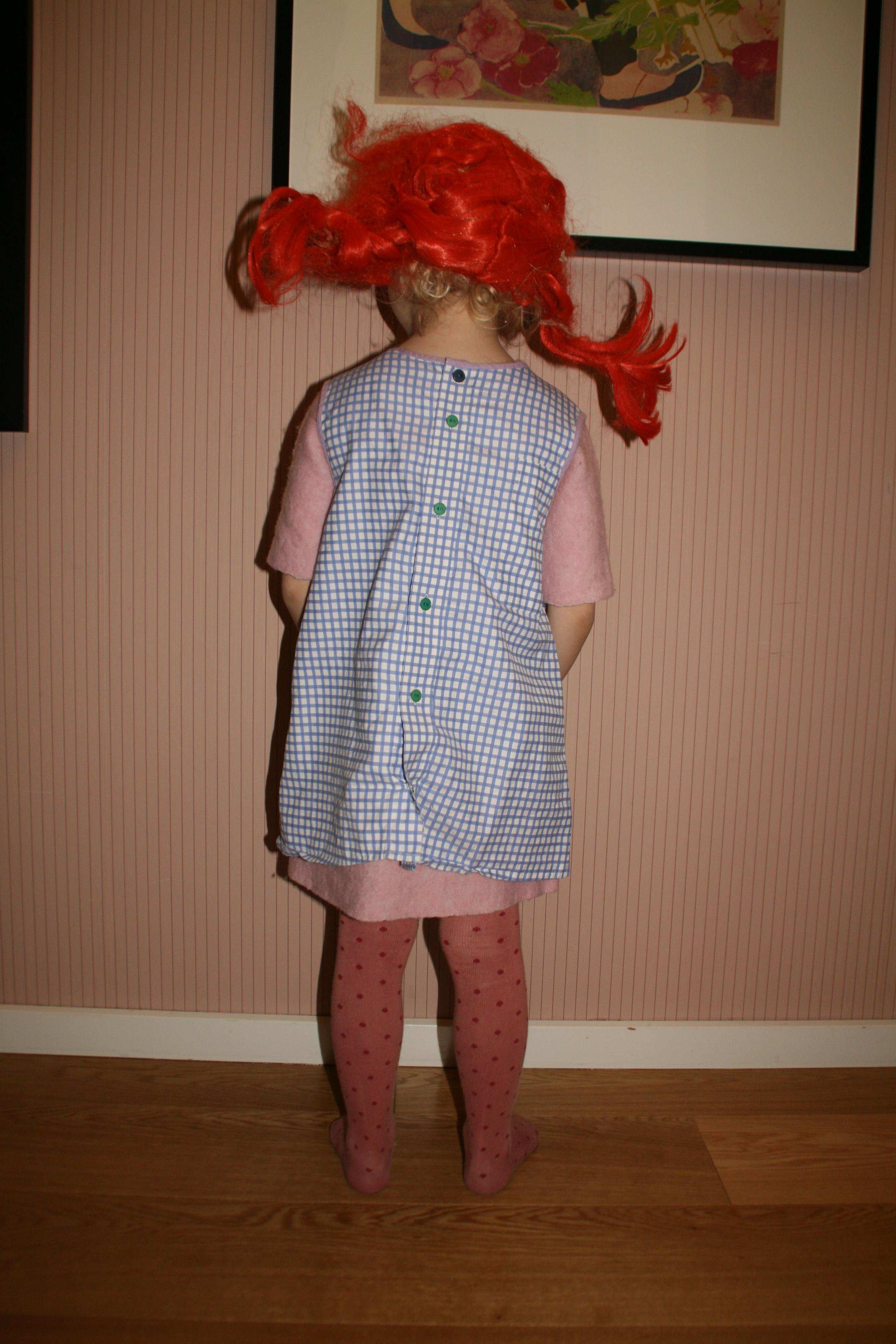 Kendt DIY Pippi kjole af brugt skjorte – mit uendelige hjem UU29
