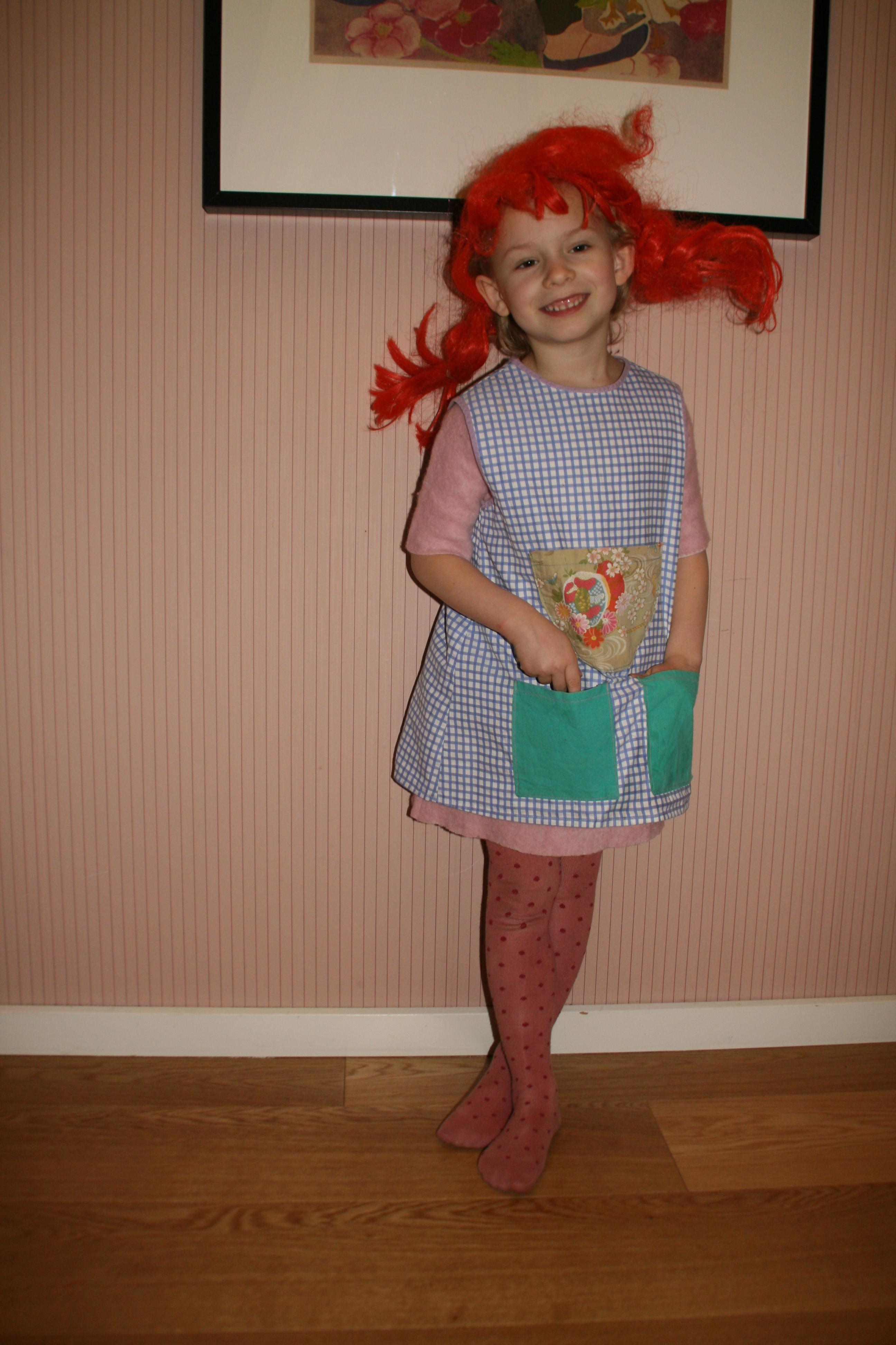 Kendt DIY Pippi kjole af brugt skjorte – mit uendelige hjem CV22